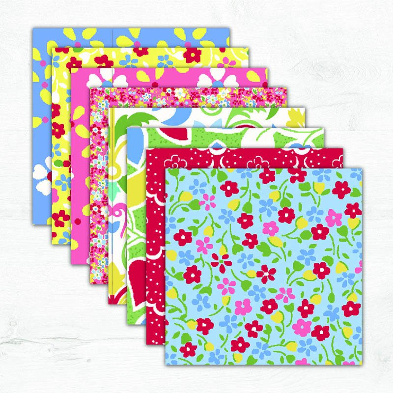 Cottage Blooms Fabric