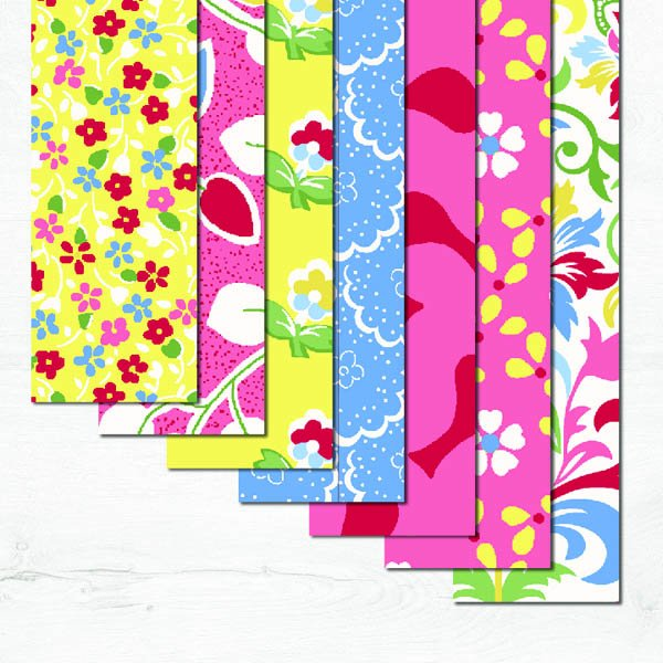 Cottage Blooms Fabric Precut