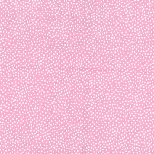 Michael Miller Garden Pindot Pink/White Cotton