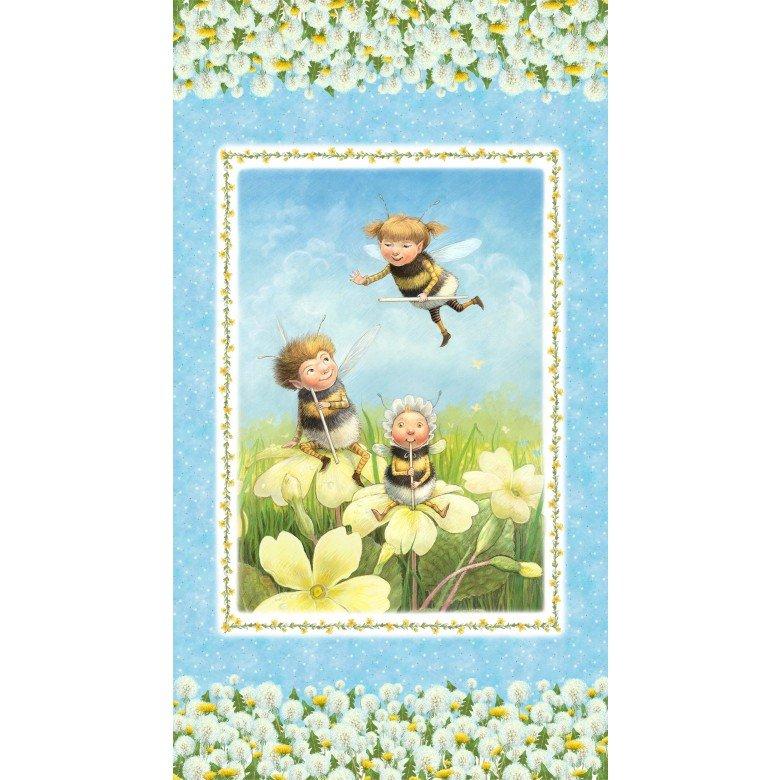 Pixielated Pixie Children's Fabric Panel