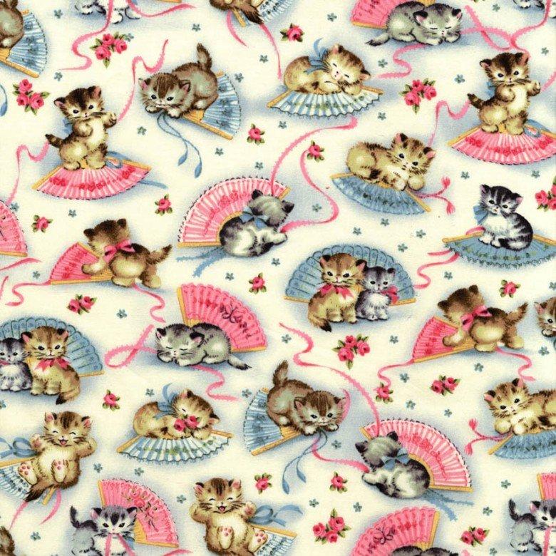 Smitten Kittens Children's Fabric Yardage