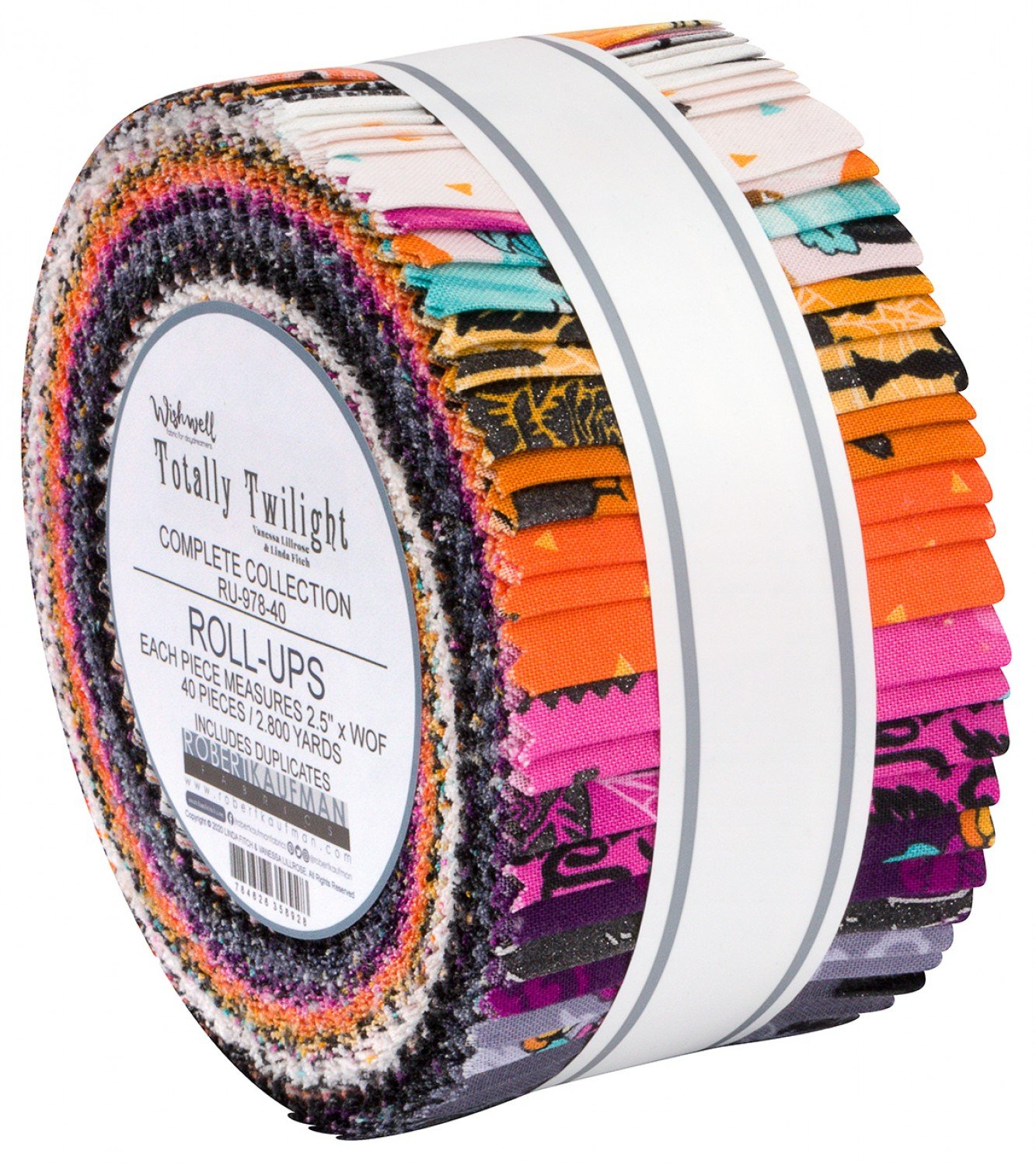 Totally Twilight Fabric Strips