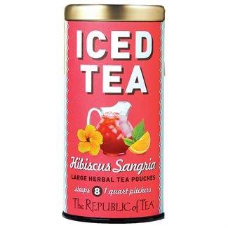 Iced Tea Hibiscus Sangria