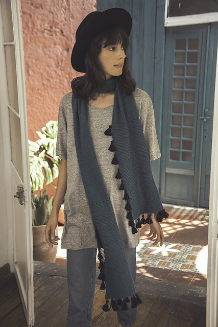 Monica Scarf with Tassels