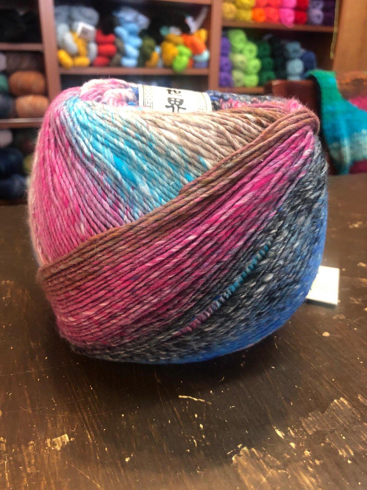 Stitch Sampler Shawl Kit