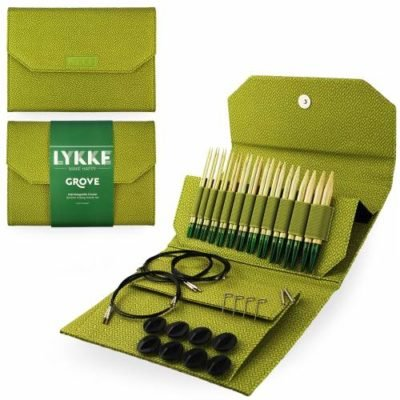 Lykke Interchangeable 5 Circular Knitting Needle Set Bamboo