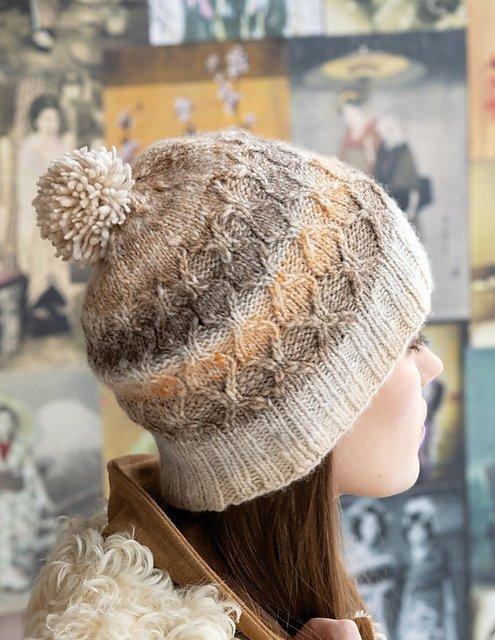 Twist Stitch Hat Kit