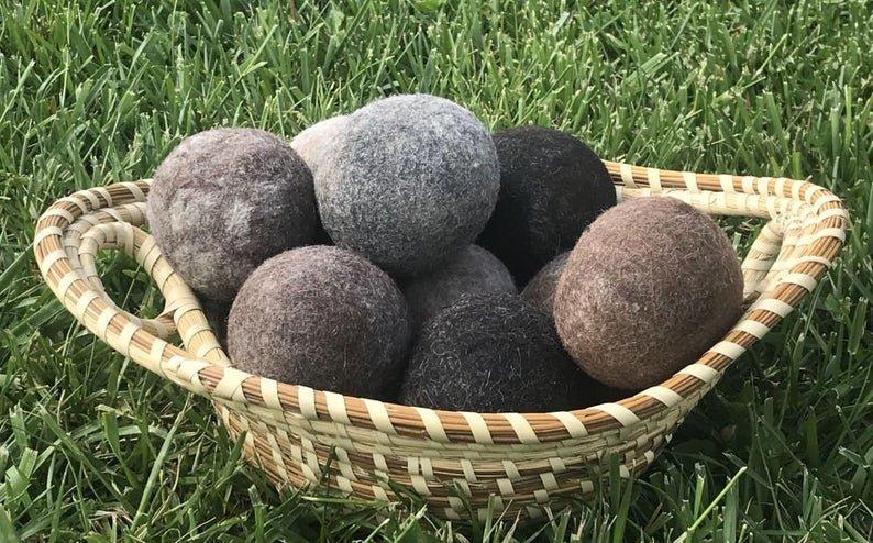 Alpaca Dryer Balls, Set of 3
