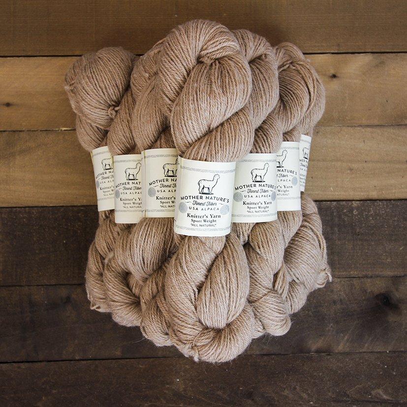 All Natural Bulky Alpaca Knitter's Yarn