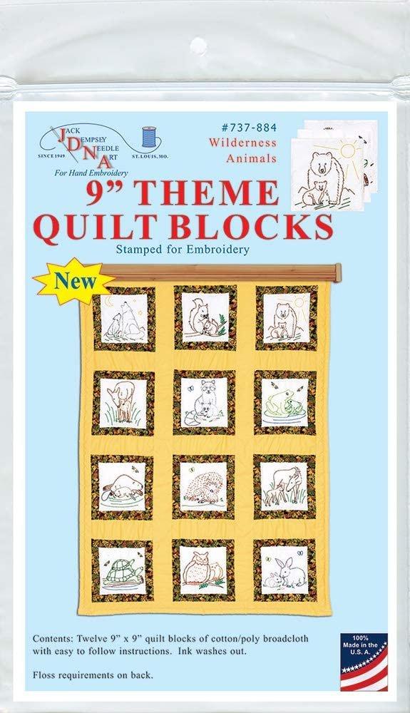 737-884 Animals Quilt Square Themes