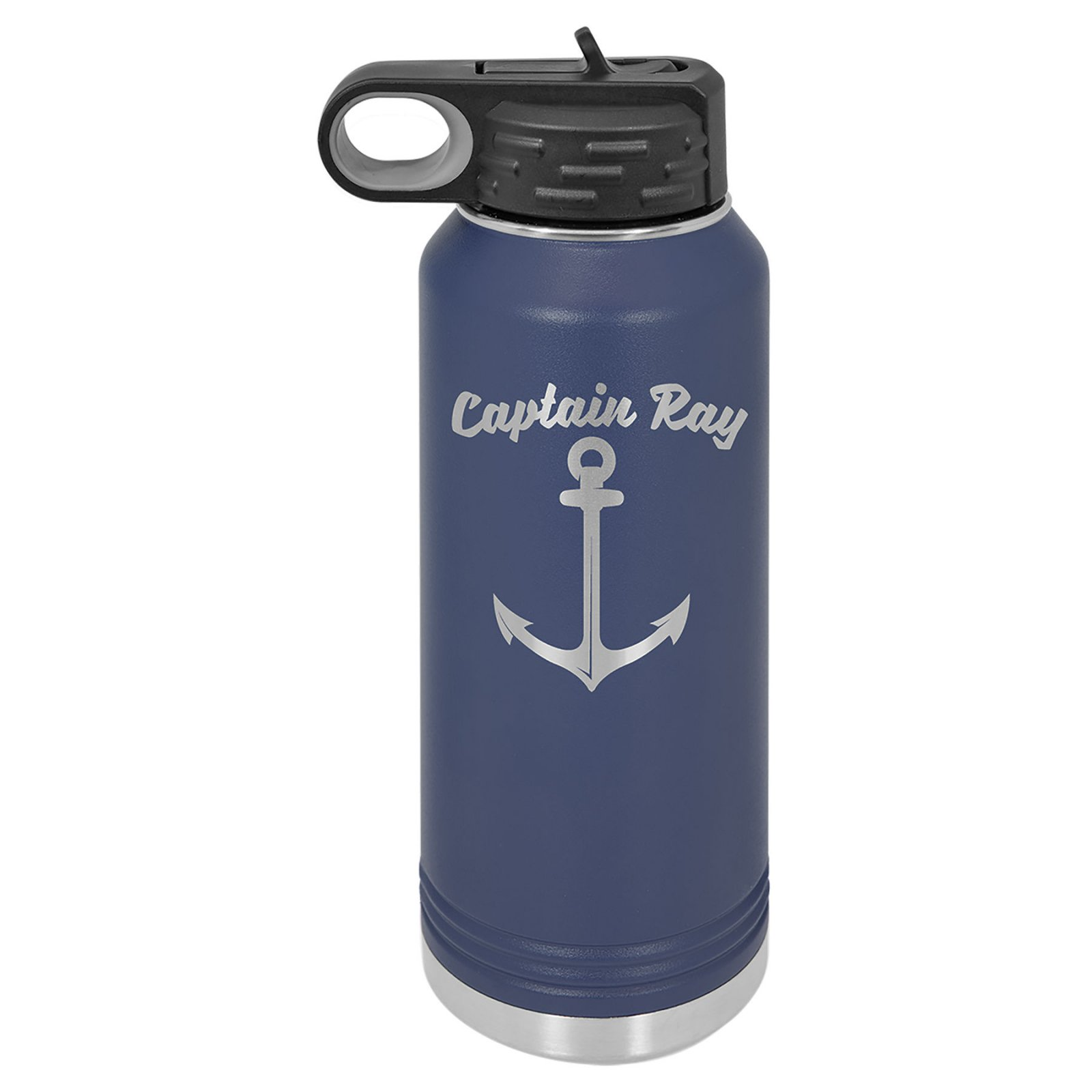 32 oz Water Bottle Navy