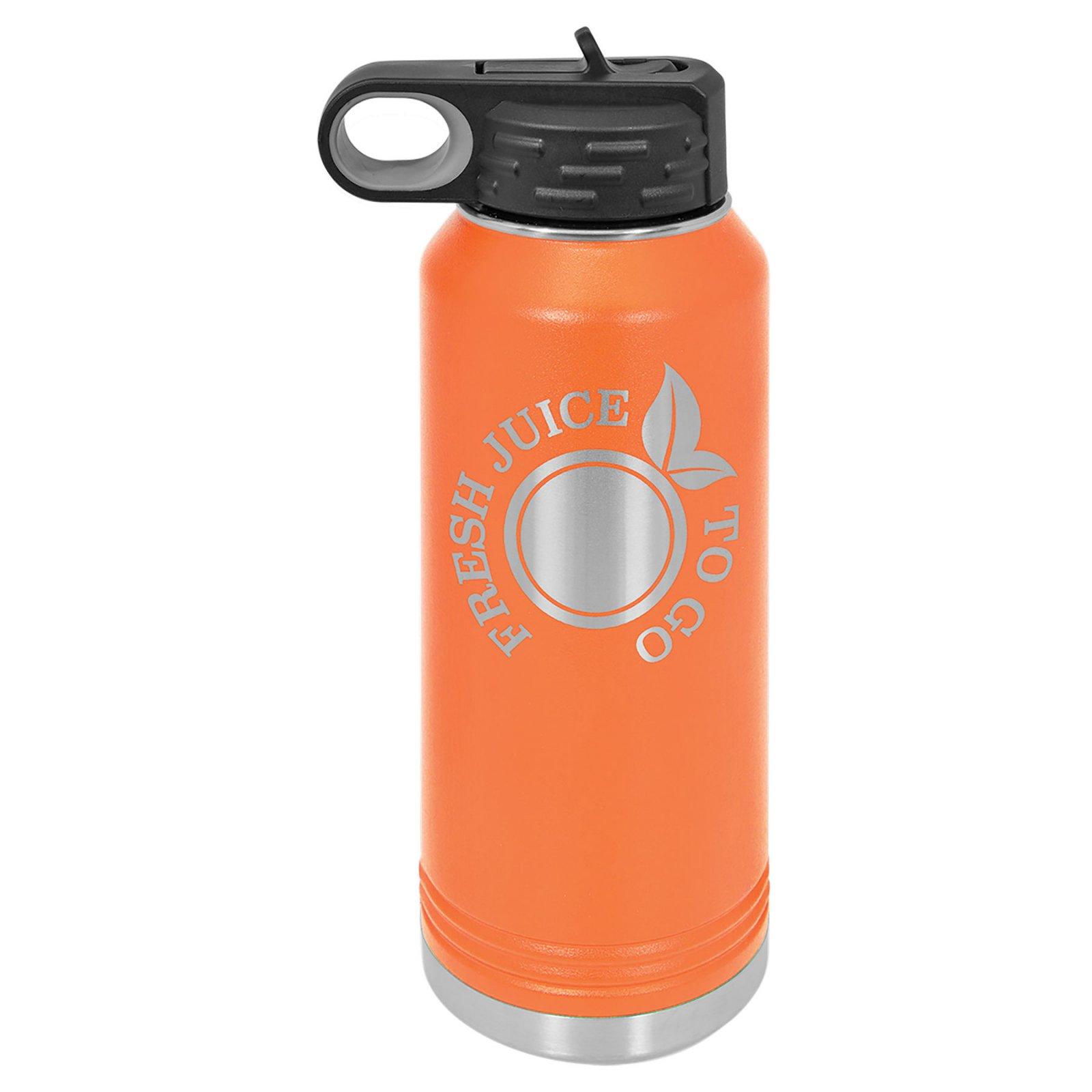 32 oz Water Bottle Orange