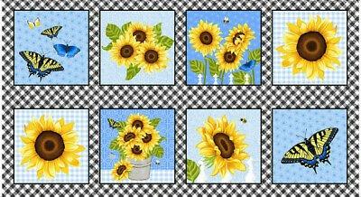 Sunny Sunflower 24 Panel