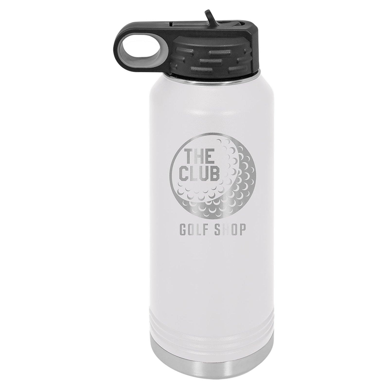 32 oz Water Bottle White