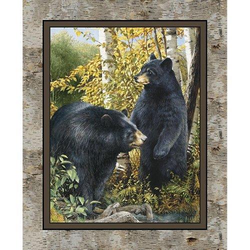 CP59984 Black Bear Panel