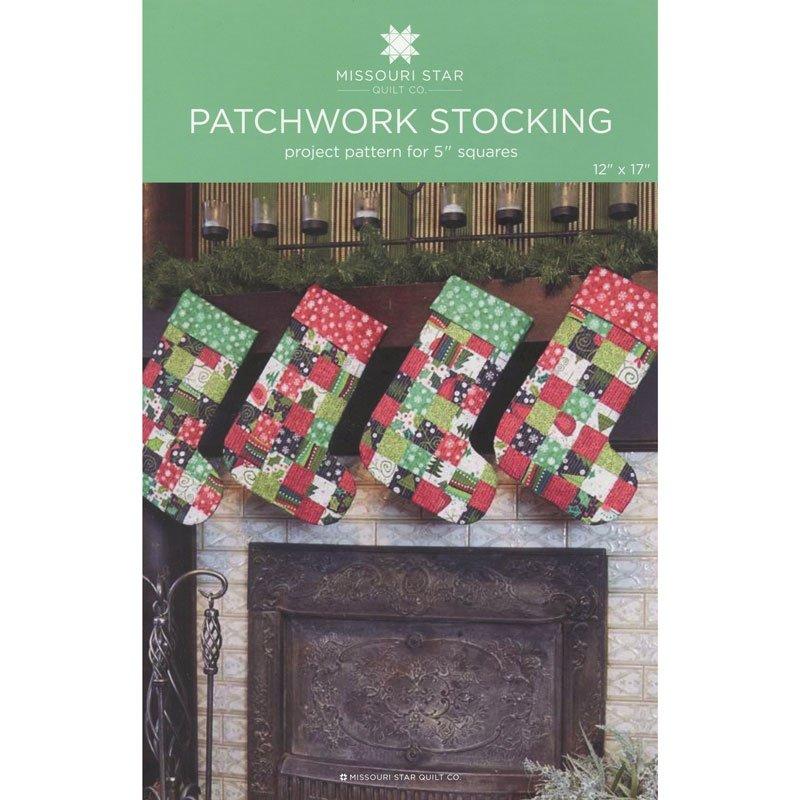 Patchwork Stocking Pattern by Missouri Star