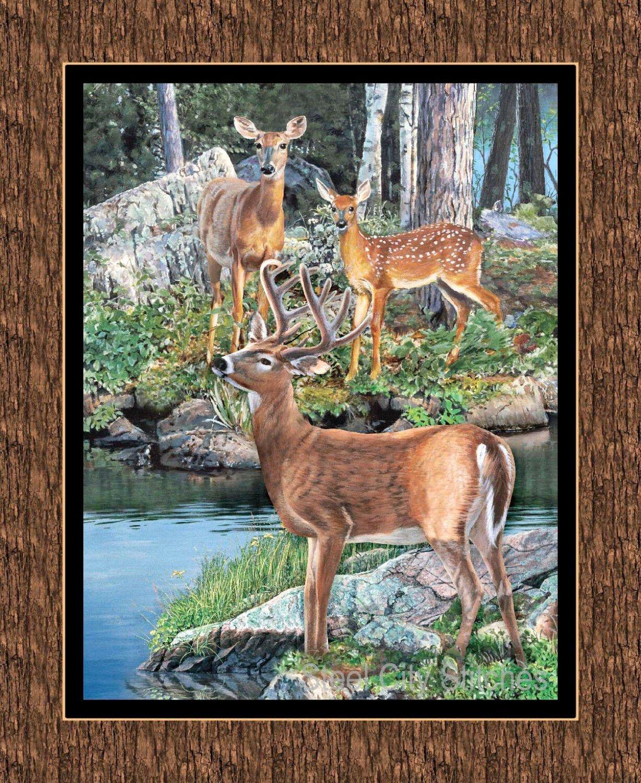 CP59980 Deer panel
