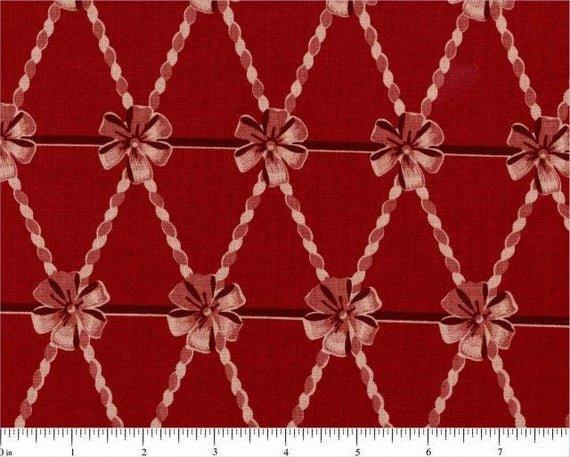 Yuletide cf2505-2 bows magenta