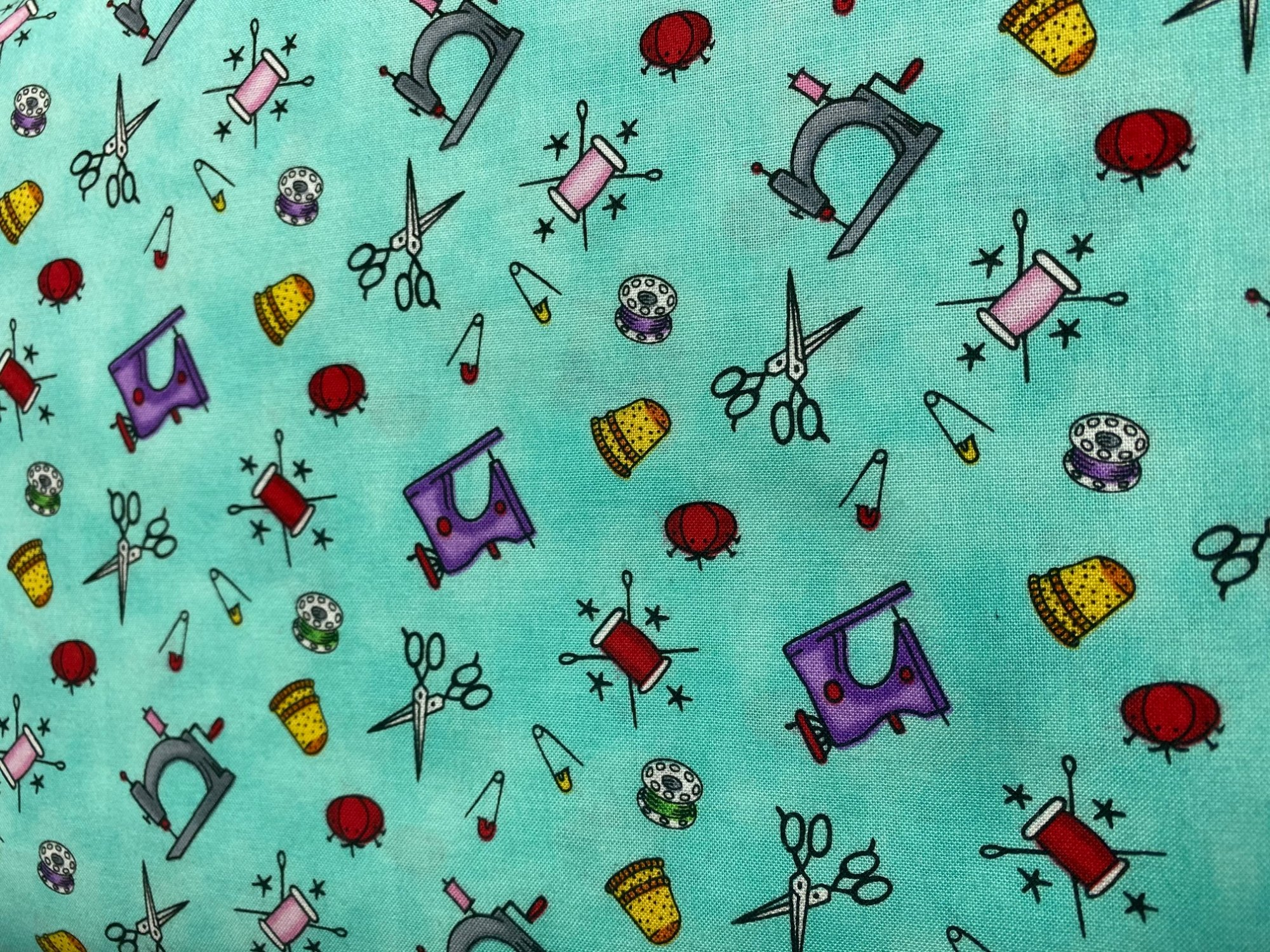8416-11 , Born To Sew LT Blue