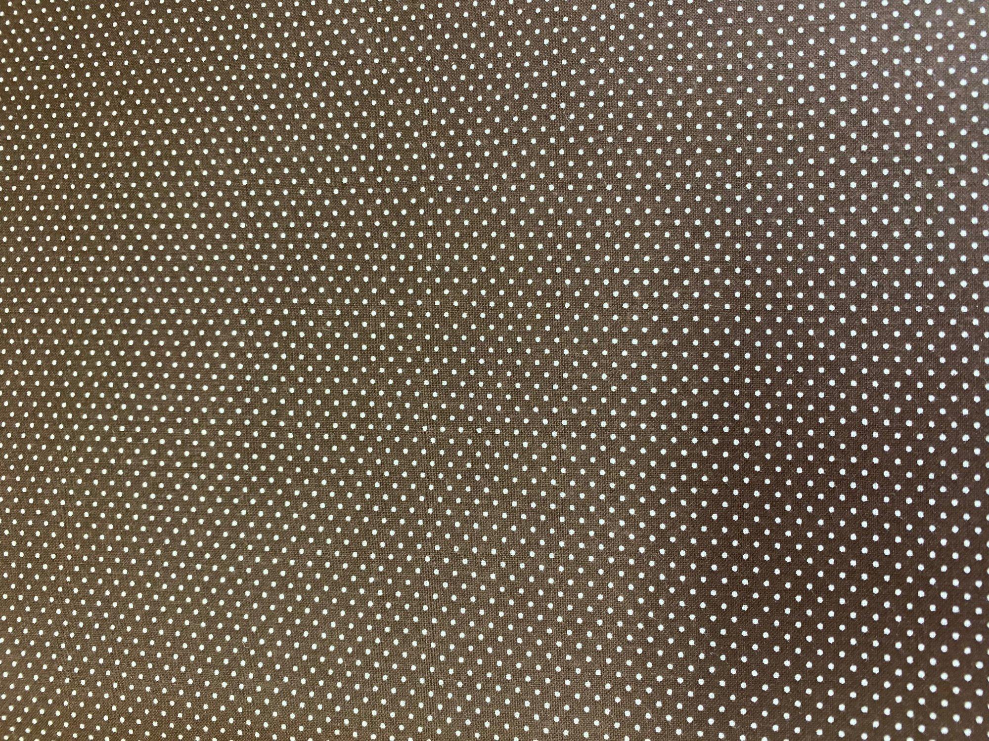 Mini Dots - Brown Tiny Dot - BD-20707-A10