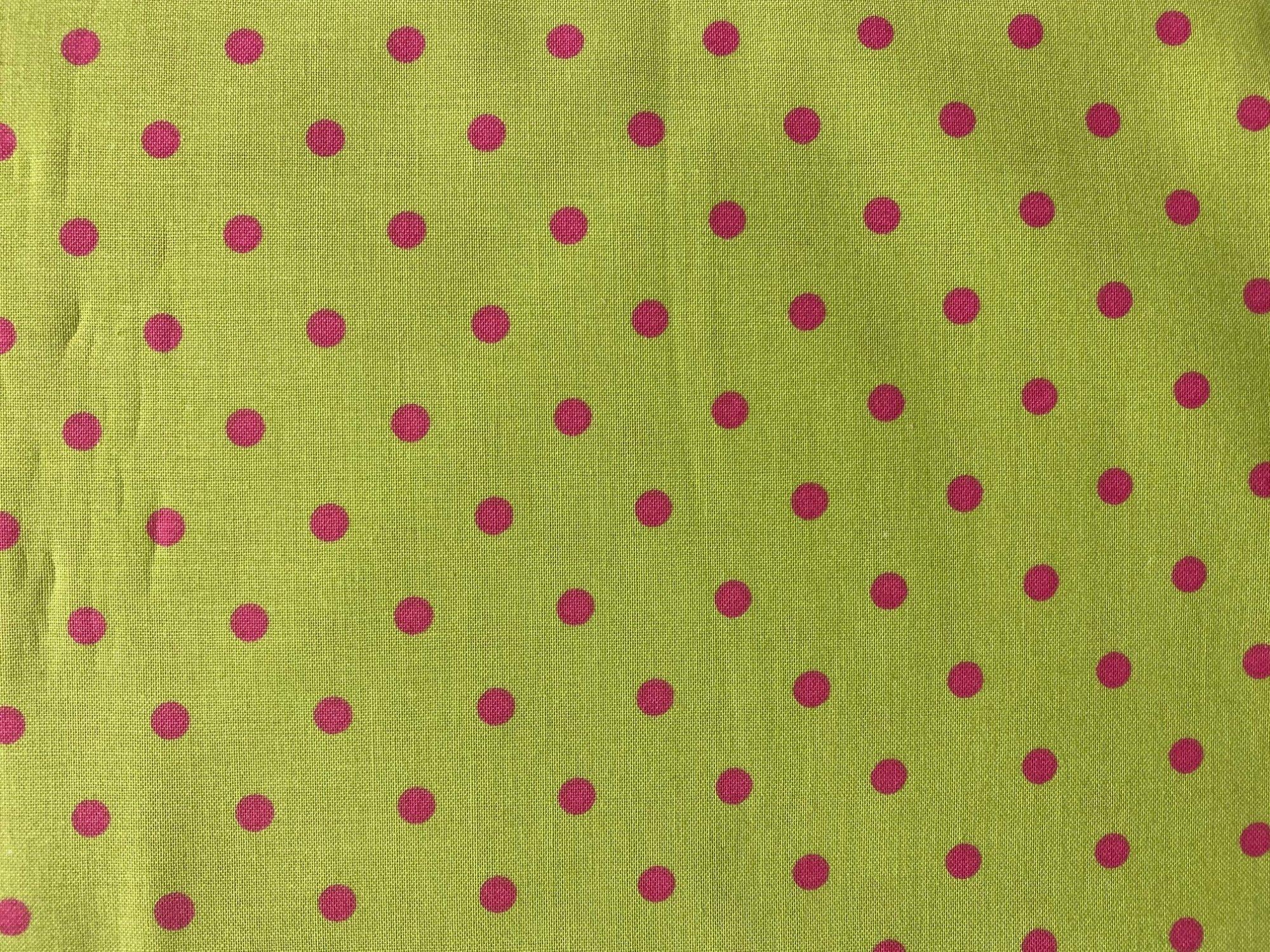 Cranston prints green/pink dot zd-53955001