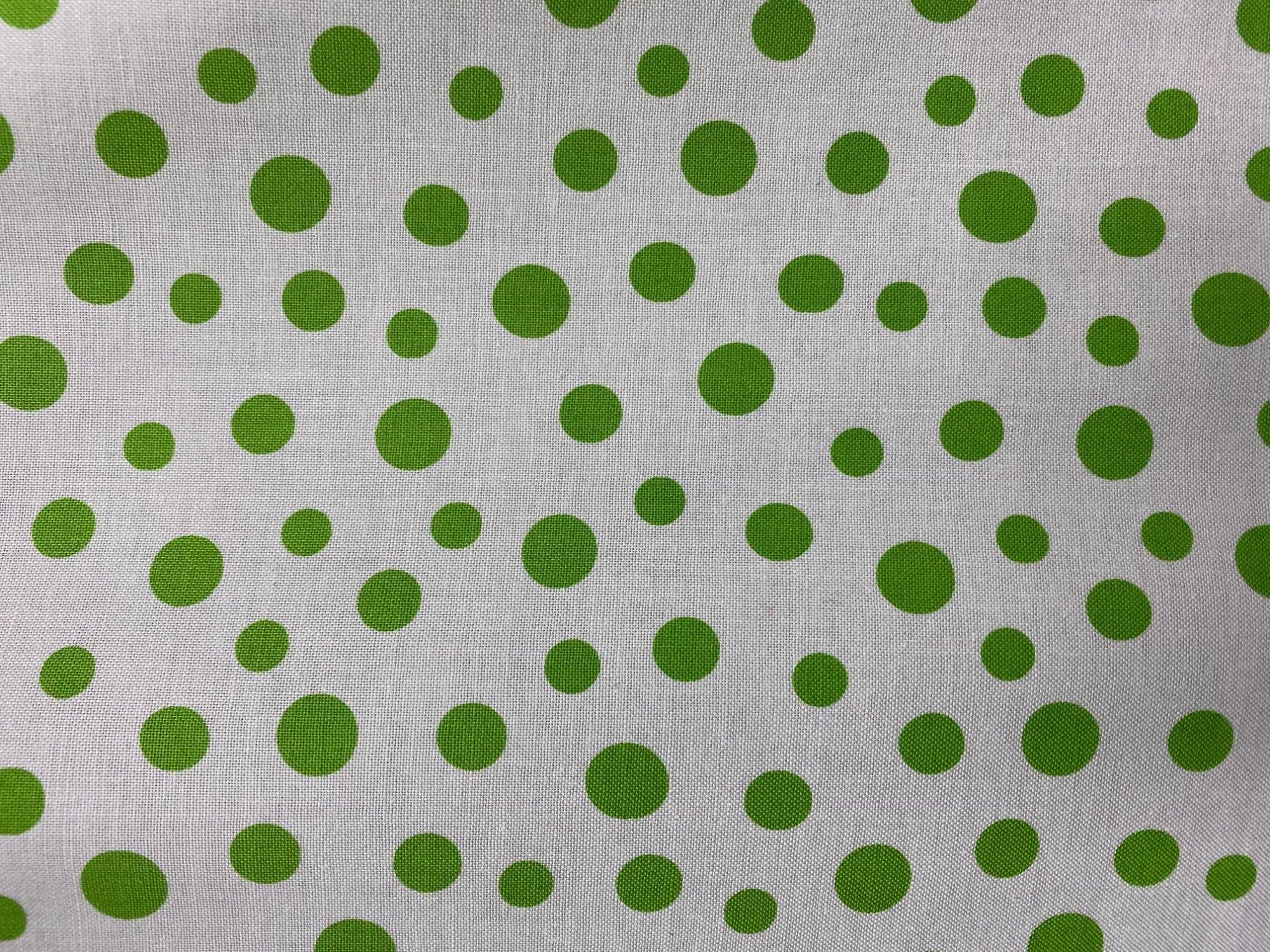Benartex fabric 01332 40 Daisy Mae dots