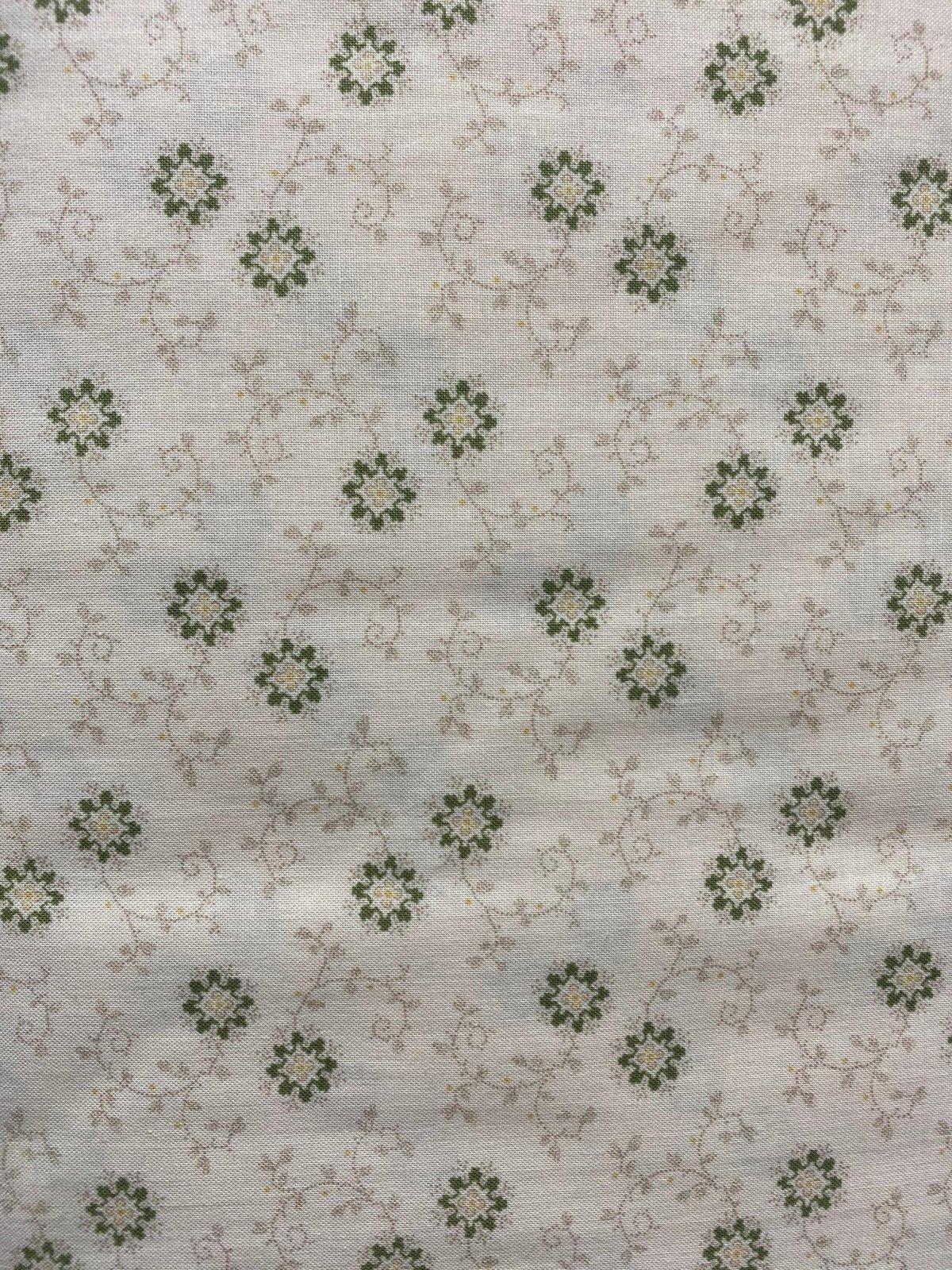 American Textile 5660 beige print