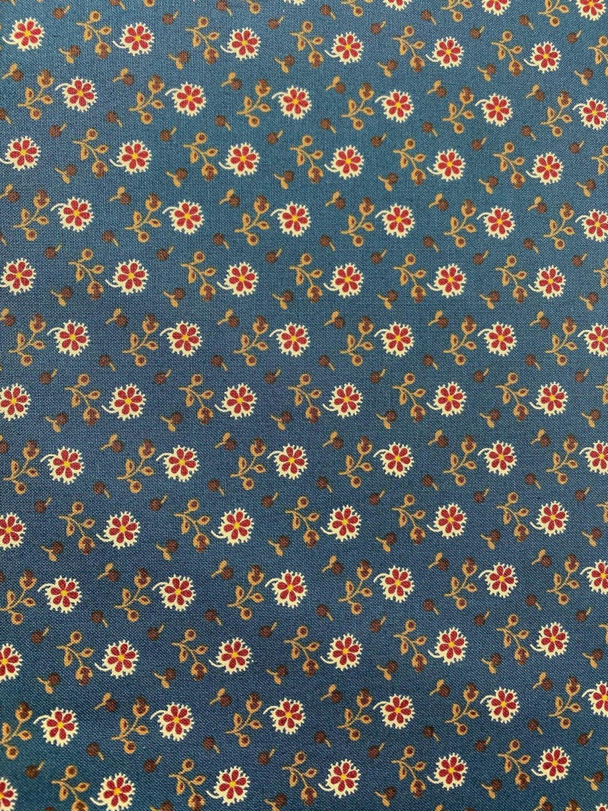 Marcus Past Endearments R33 0338 0150 Blue Floral