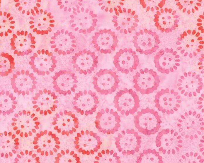 Moda Sunset Pink Batik 27250-309