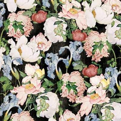 Wilmington Prints Black packed Floral 85560 913w
