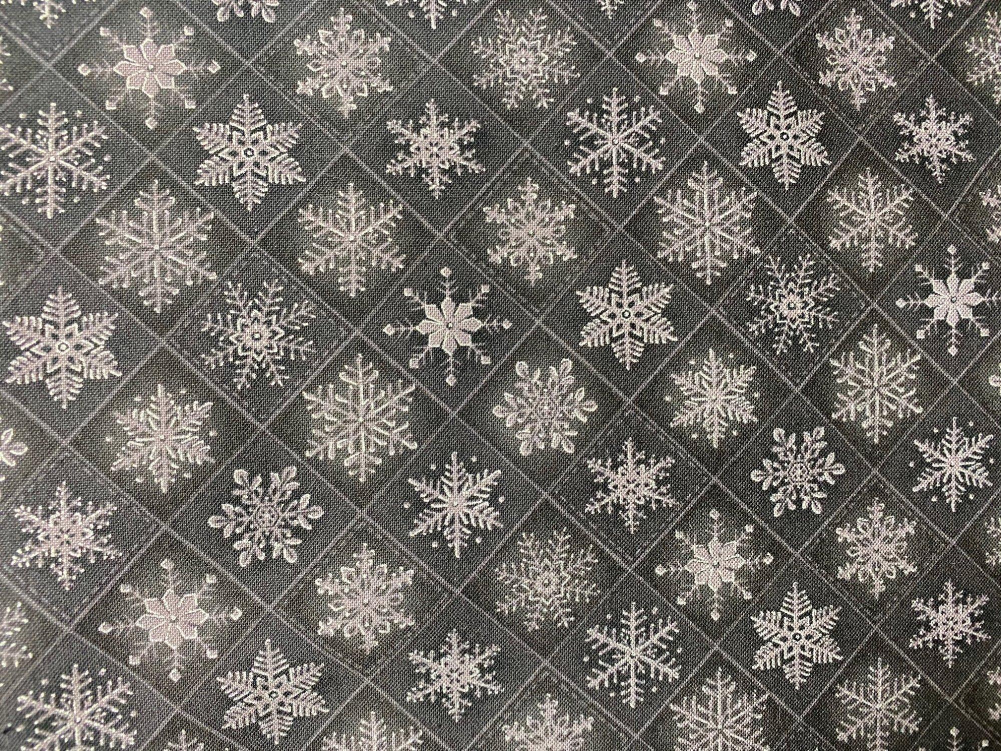 Choice Visions black/sliver snowflakes