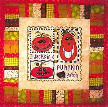3 Jacks in a Pumpkin Patch