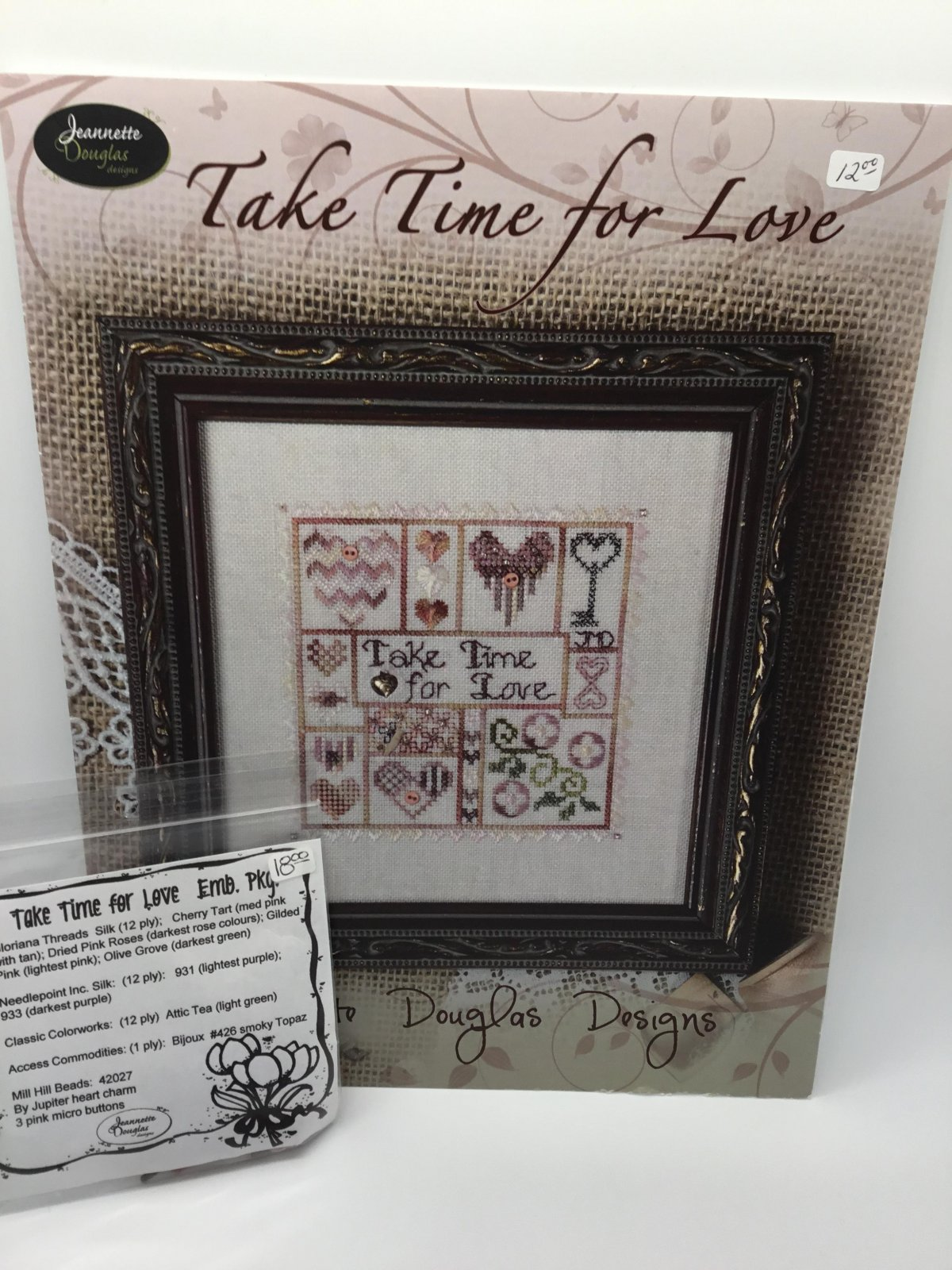 Take Time for Love with Emb. package