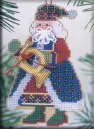 French Horn Santa