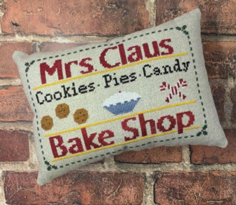 Mrs. Claus  Bake Shope
