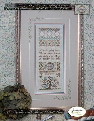 A Needle and Thread Sampler and Embellishment package