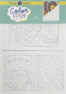 Color Stitch Persian Paisley