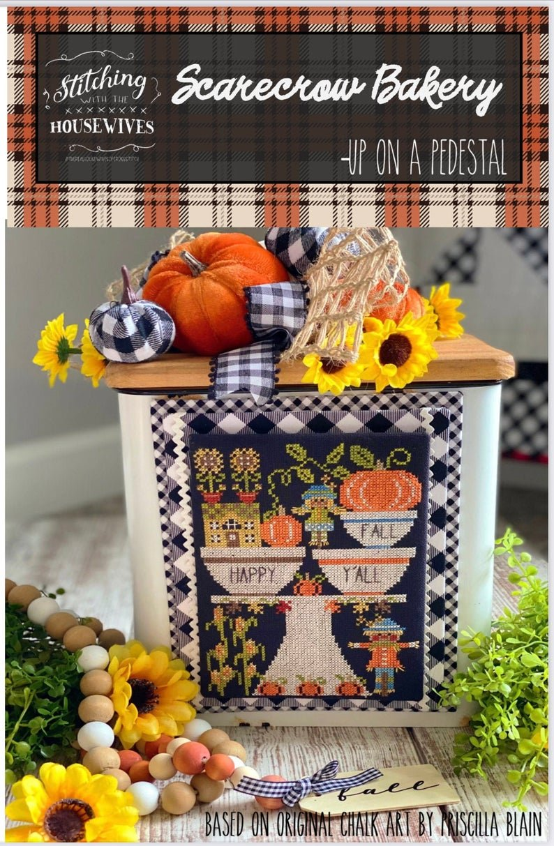 Scarecrow Bakery -Up on a Pedestal