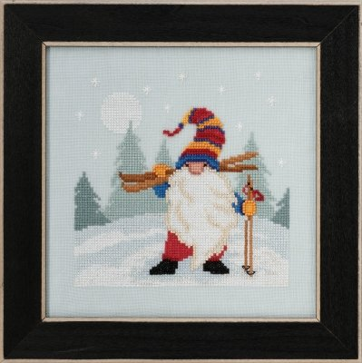 Skiing Gnome