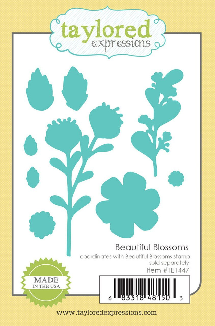 Taylored Expressions-Beautiful Blossoms Dies