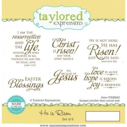 Taylored Expressions He is Risen
