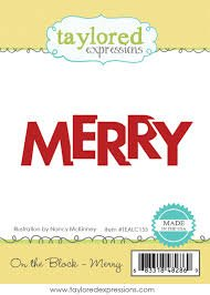 Taylored Expressions On the Block - Merry Stamp
