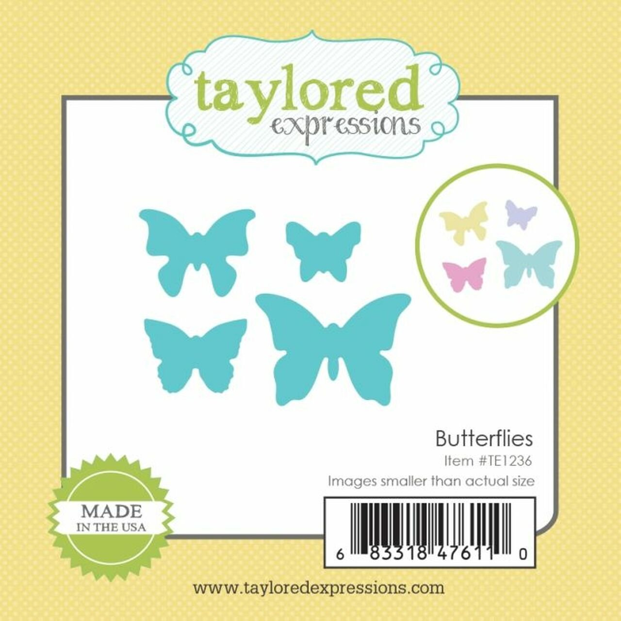Taylored Expressions-Little Bits Butterflies Dies