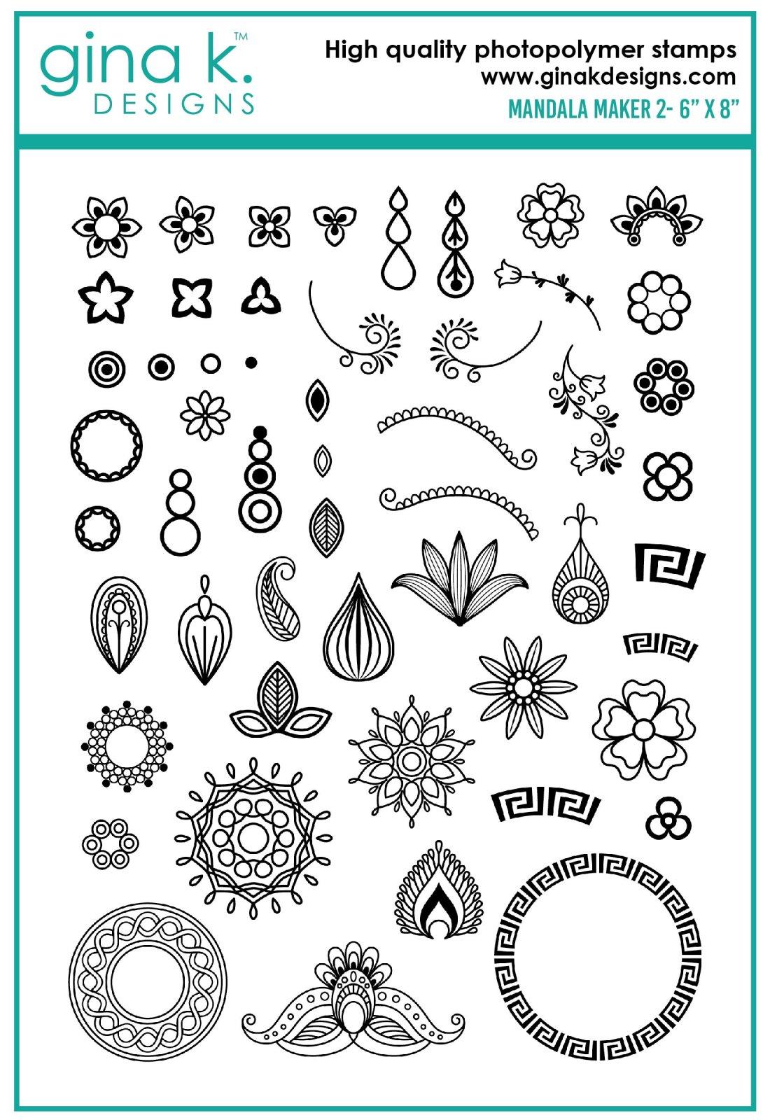 Gina K Designs Mandala Maker 2