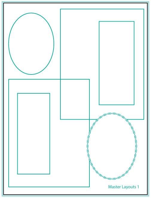 Gina K. Designs- Master Layouts 1 Die Set