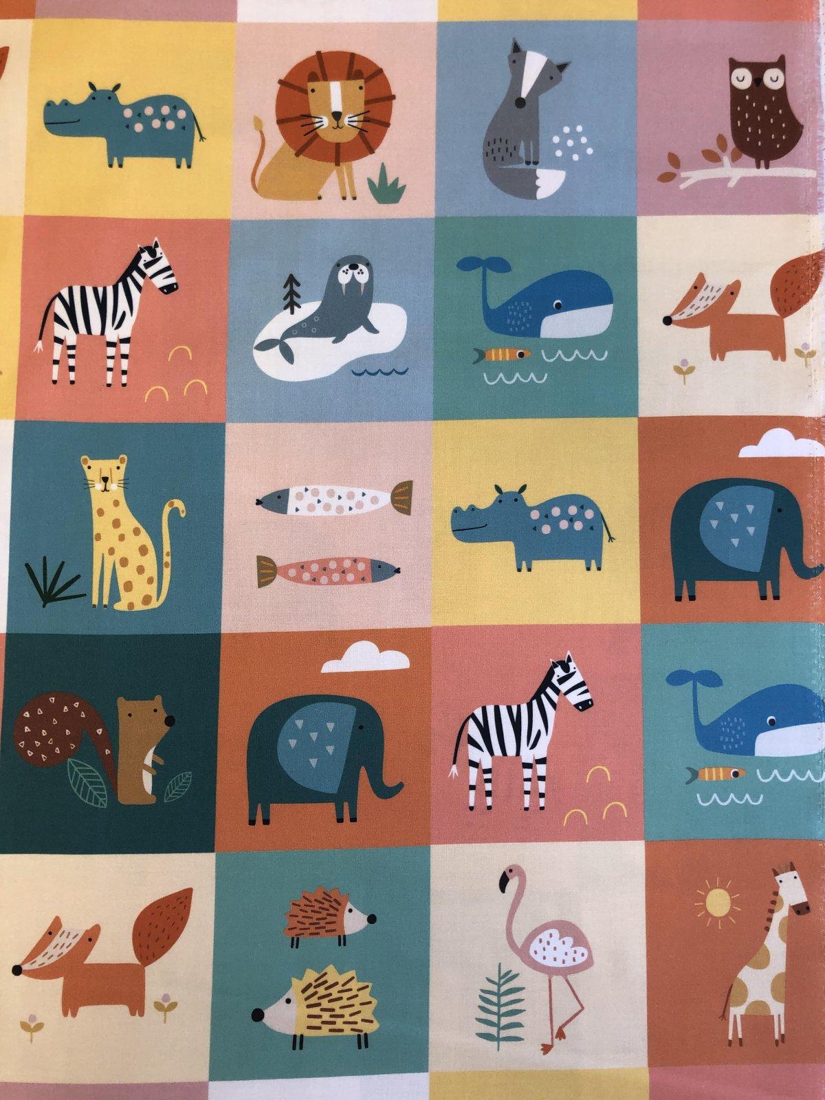 Dashwood Studio Habitat Animal Panels