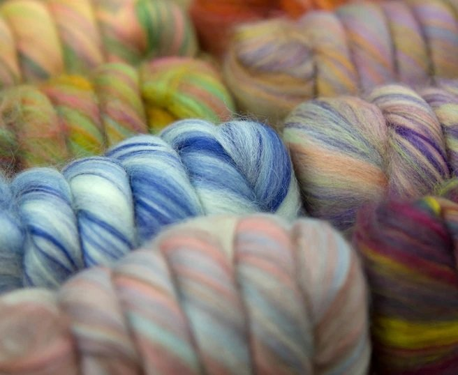 Bambino Roving Set - Merino wool / Bamboo tops