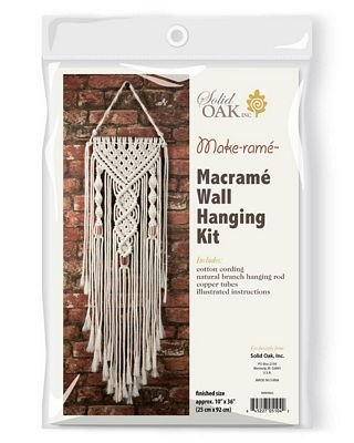 Macrame Kit - Dual Spirals Wall Hanging