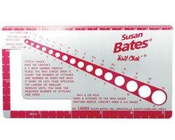 Metal Knit Gauge by Susan Bates