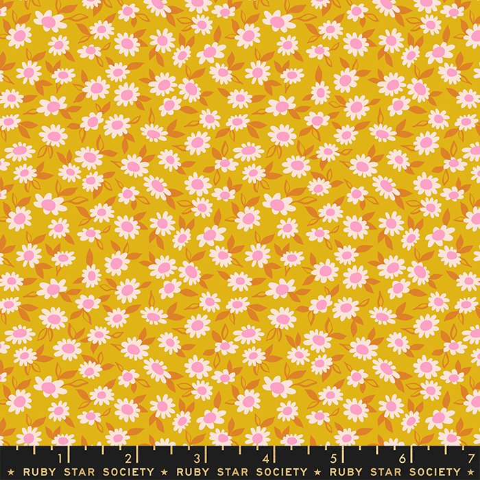 Morning in Goldenrod - PREORDER - Stay Gold by Melody Miller - Ruby Star Society Fabrics